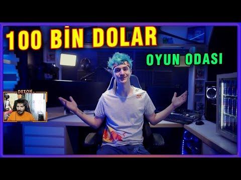NİNJA YENİ 100 BİN DOLAR OYUN ODASI BİLGİSAYAR SETUP