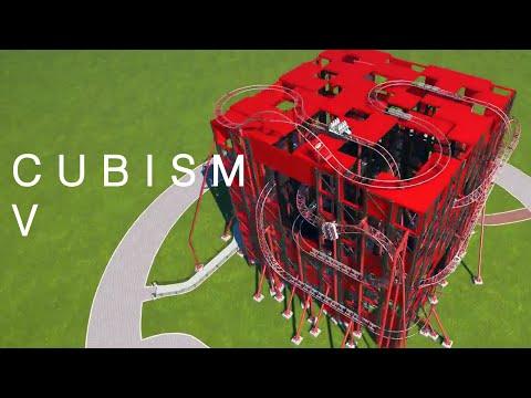 Planet Coaster | Cubism V: Revenge of the Cube