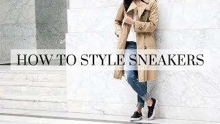 How To Style Sneakers, sneakers