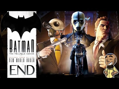 BATMAN: THE TELLTALE SERIES | Episode 3 Gameplay Walkthrough | New World Order ENDING (Lady Arkham)