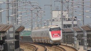 2018年7月18日 北陸新幹線 新高岡駅 かがやき号とイーストアイの通過
