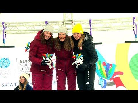 EYOF - Dvije medalje za Švicarsku u skijaškom trčanju za djevojke