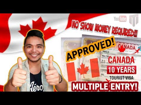 How To Apply For CANADIAN Visitor VISA 2019 - No Show Money Required | 10 YEARS VALIDITY