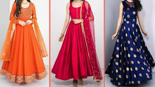 Latest beautiful design dresses for girls 2019 || latest designs collection