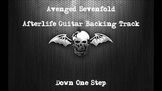 Avenged Sevenfold - Afterlife Guitar Backing Track Drop C With Vocals ( One Step Down )