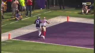 Kirk Cousins to Stefon Diggs 25 Yard Touchdown 49ers vs Vikings