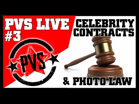 Celebrity Photography Contracts, Photo Law, Q&A