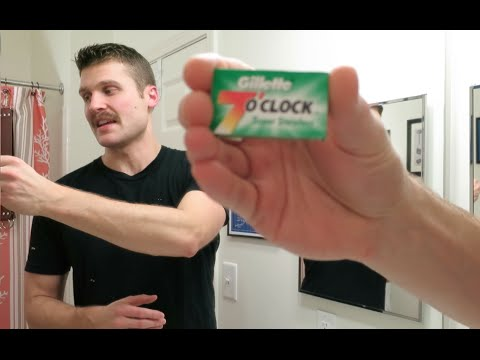 Gillette 7 O'Clock Super Stainless Razor Blade Review!