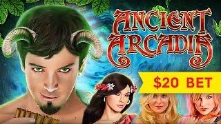 Ancient Arcadia Slot - HIGH LIMIT - Did That JUST HAPPEN?!