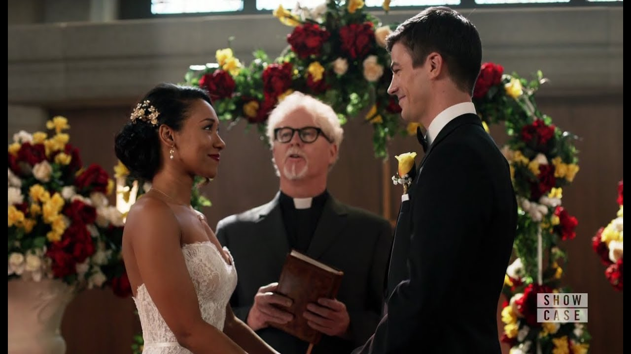 Barry allen and Iris West Wedding (Crisis on Earth X)   YouTube