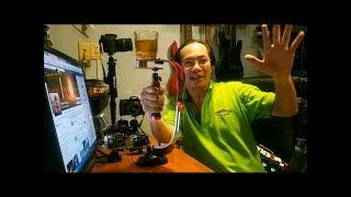 Test thử tay cầm chống rung - Stabilizer Steadicam cho ĐT - GoPRO và Máy ảnh DSLR