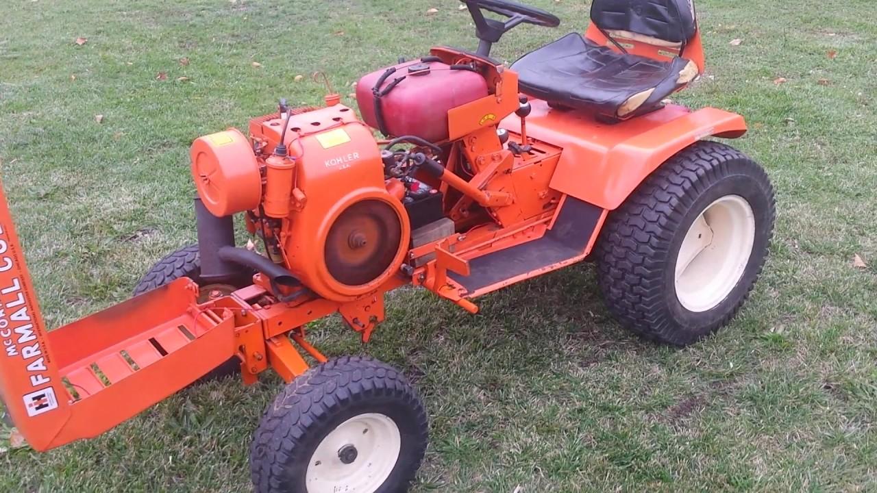 Wheel Horse Lawn Tractor 2311bp02 22136 : Wheel horse c lawn garden tractor youtube
