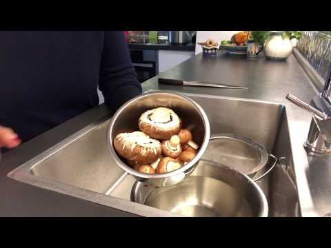 HOW TO: Clean Mushrooms