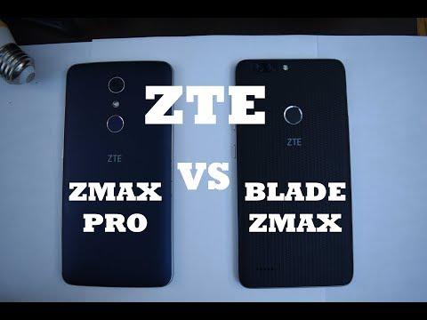 ZTE Blade Zmax VS ZTE Zmax Pro