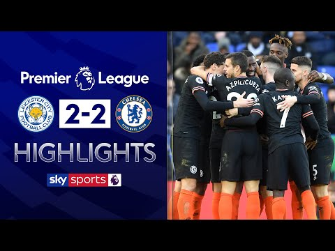 Antonio Rudiger scores twice in topsy-turvy affair! | Leicester 2-2 Chelsea | EPL Highlights