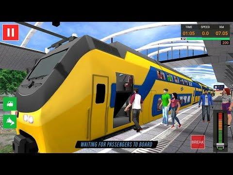Euro Train Simulator Free - Train Games 2019 Android Gameplay