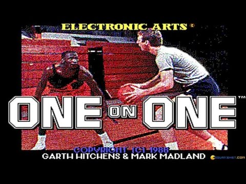 One on One - Jordan Vs Bird gameplay (PC Game, 1988)
