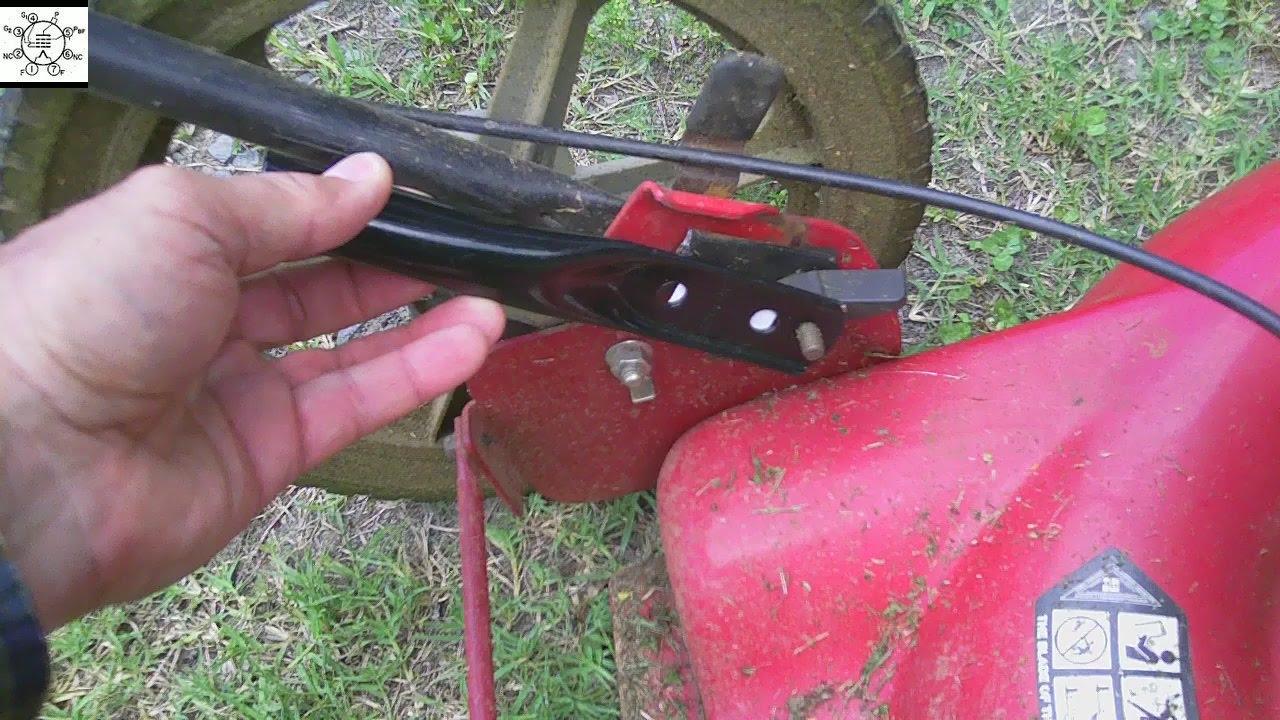 Murray Lawn Mower Fix A Handle Repair Youtube