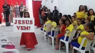 Entrada linda  da festa do Círculo de Oração 04/2016. Música :Dias de Elias de Lauriete.