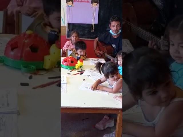 Lucas Segovia en el jardín de infantes nª2 barrio Emerenciano