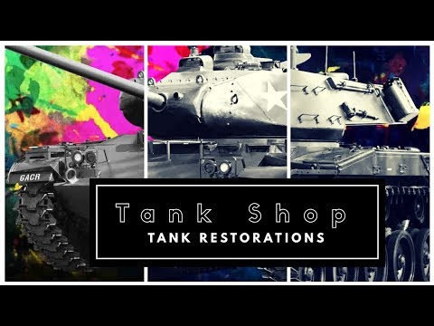 Tank Shop - The M19 a WWII Tank Restoration - trailer1:15