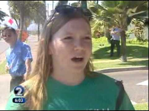 Maui Protest of the Hawaii Superferry