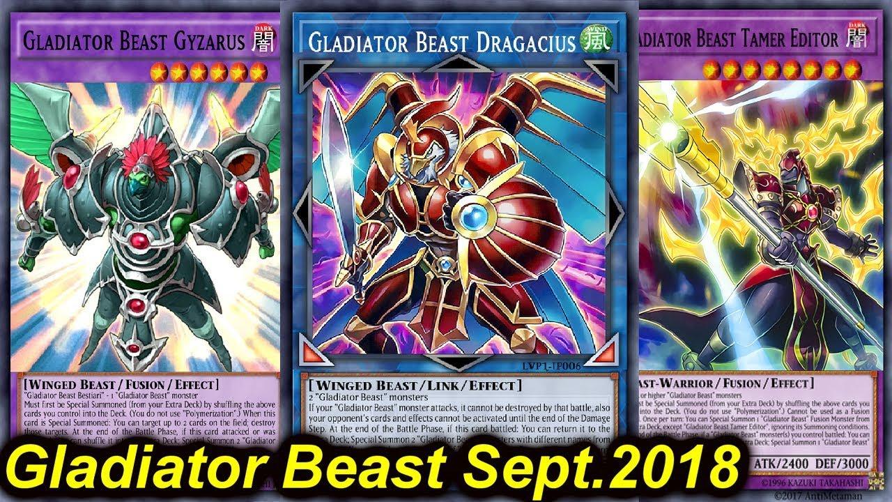 d2967f72d gladiator beast september 2018 - YGOPRODECK