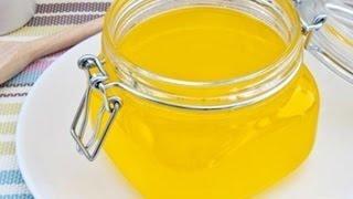 Почему полезно домашнее топленое масло? Вот видео рецепт  приготовления домашнего  масла  ГХИ