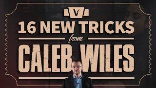Caleb Wiles does crazy card magic!