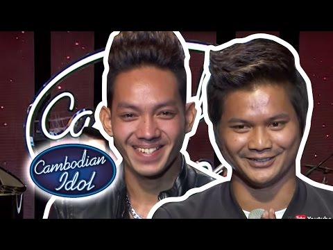 Cambodian Idol 2015   Theater Round 2   Group 14 CHHEM CHIVON & MAO HAGI