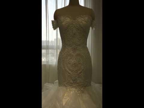 wedding dress with beautiful swarovski wedding dress supplier amanda novias