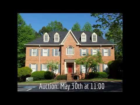 1125 Cambridge Square, Alpharetta, GA Office Building Up for Auction on May 30, 2013