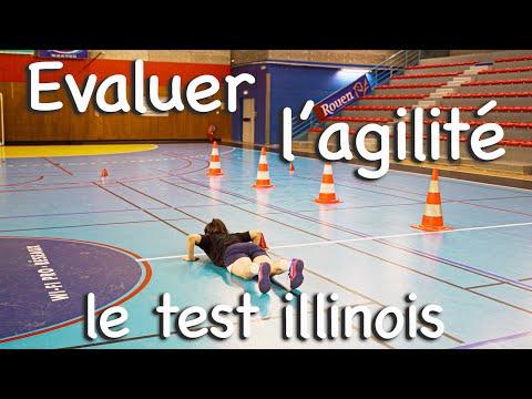 Evaluer l'agilité du sportif : Le test Illinois !