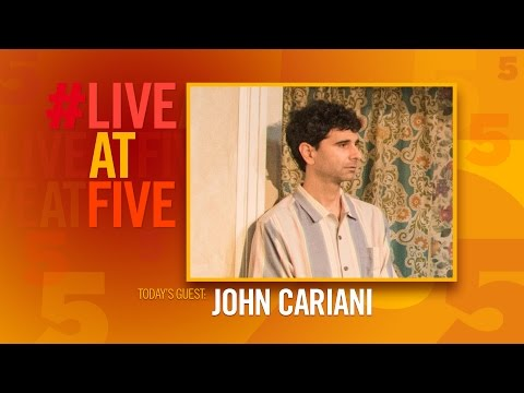 Broadway.com #LiveatFive with John Cariani of THE BAND'S VISIT
