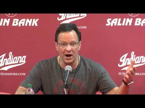 Indiana Basketball Coach Tom Crean 2/16/16.