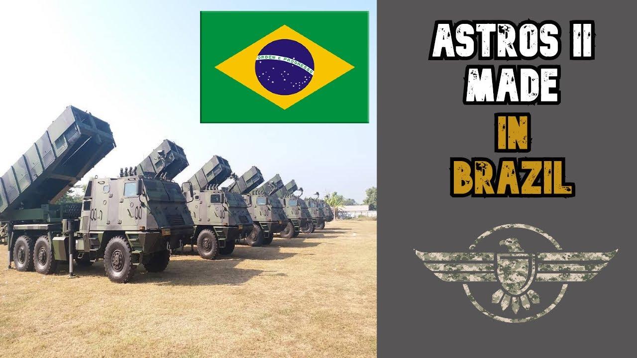 ASTROS II Sistema MRLS de Brasil. Conoce sus capacidades