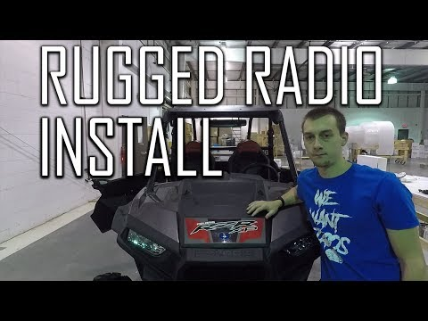Polaris RZR Rugged Radio Install