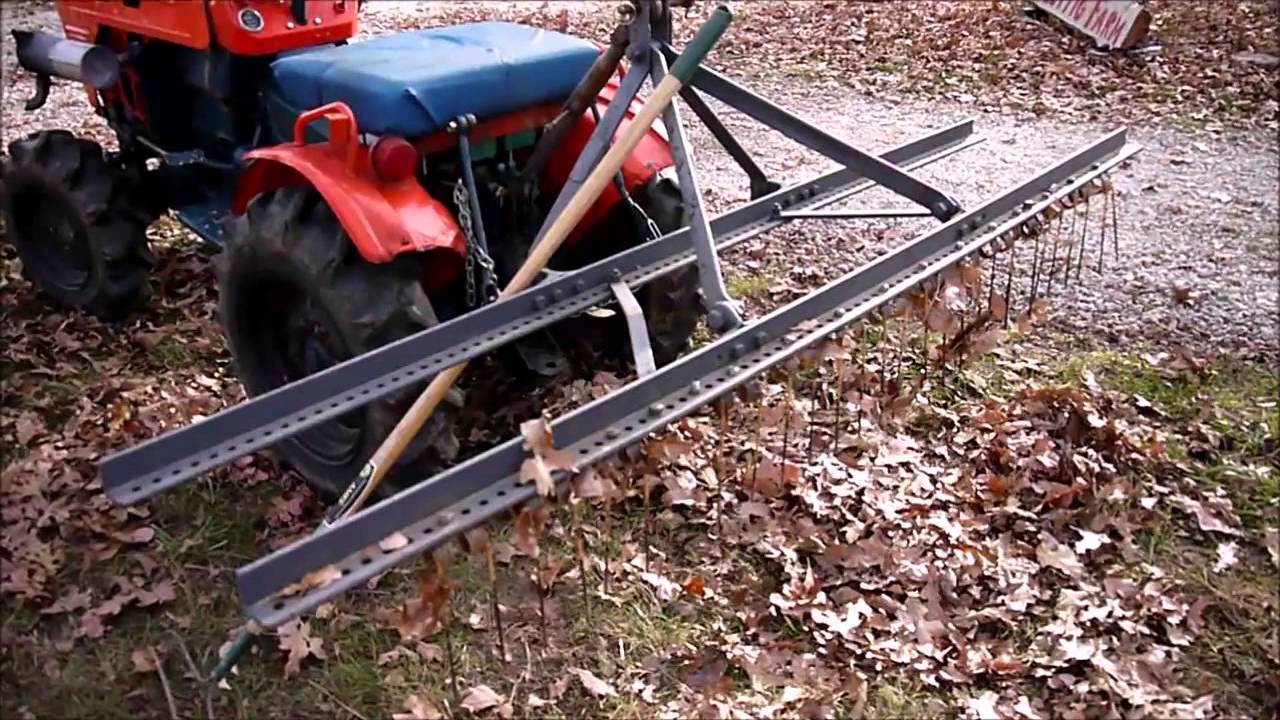 how to use flymo lawn rake