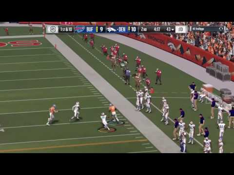 MEAN STIFF ARM!!!! Watch Virgil Green give this defender a mush of s life time #madden17 #UE_gaming