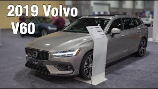 2019 Volvo V60 Show & Tell at the DC Auto Show