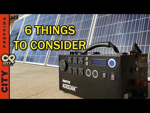 Solar Generators: worth the money? Inergy Kodiak after using 1 year