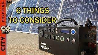 Solar Generators: worth the money? Inergy Kodiak after using 1 year