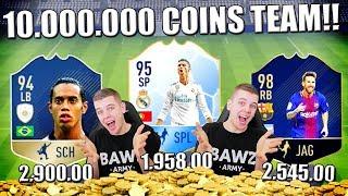 DE FINALE + 10.000.000 COINS TEAM!! FIFA 18 NEDERLANDS