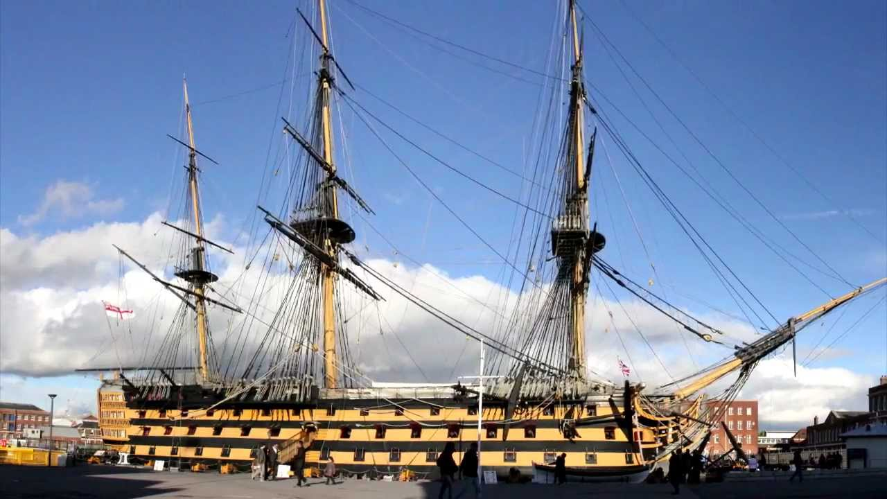 9dc5e4beee Historic Ships   Mary Rose   HMS Victory   HMS Warrior ~ Portsmouth -  YouTube