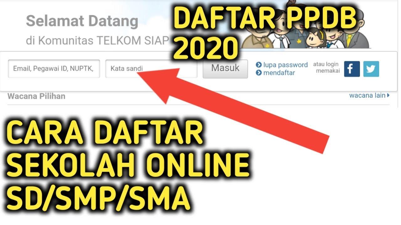 27+ Cara pengisian ppdb online smk 2020 cpns 2021