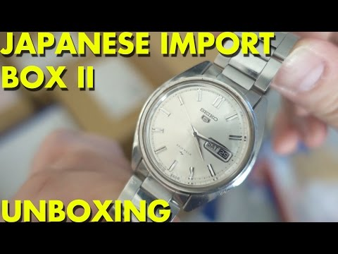 Japanese Import Box II - UNBOXING
