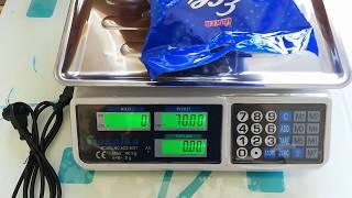 Teknika Dijital Elektronik Terazi (40 kg - 2 gr) 140 TL