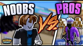 Pros vs Noobs in LOOMIAN LEGACY - ROBLOX