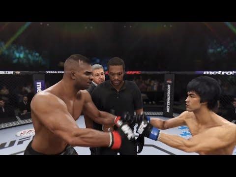 Alistair Overeem vs. Bruce Lee (EA sports UFC 3) - CPU vs CPU