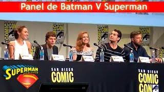 Panel de Batman v Superman en la San Diego Comic-Con 2015 - Sub. en Español